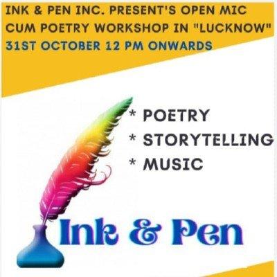 Ink & Pen open mic ( Poetry)