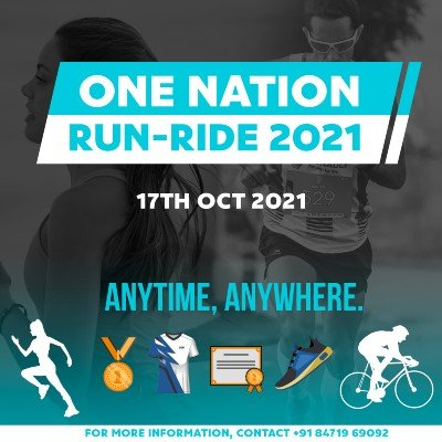 ONE NATION  RUN-RIDE 2021