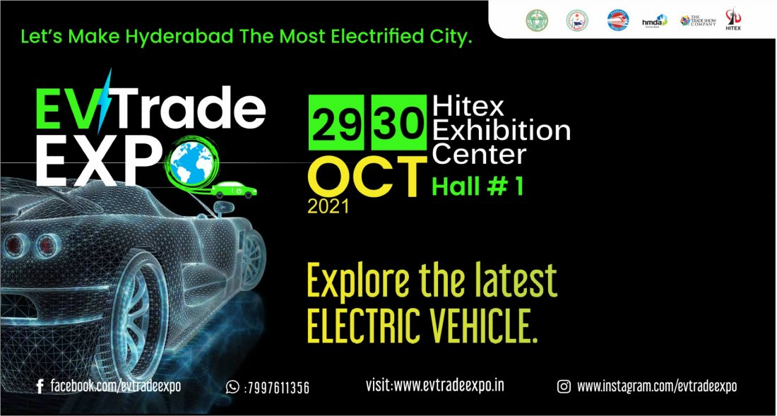 Ev Trade Expo , 29 October | Event in Hyderabad | AllEvents.in