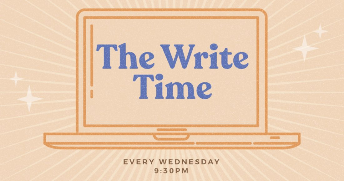 The Write Time   Online Event   AllEvents.in