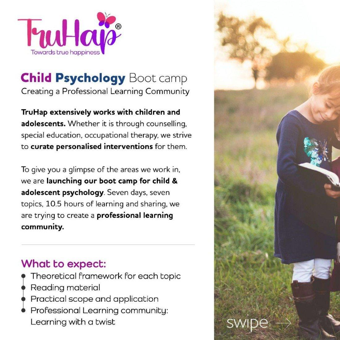 Child Psychology Boot Camp