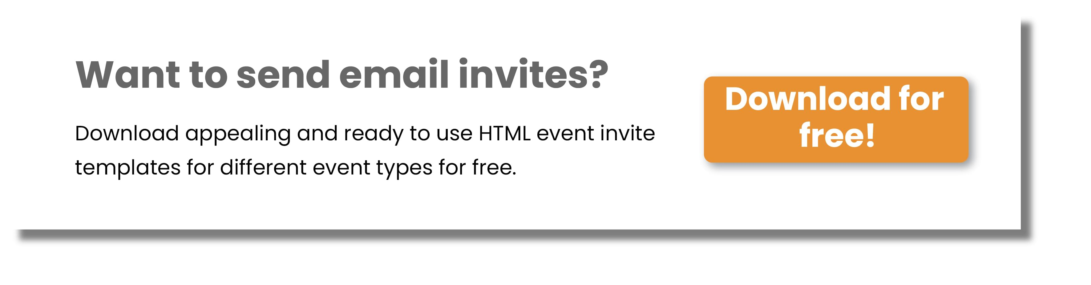 Download Event invite template