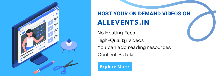 On-demand video hosting